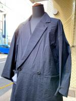 ETHOSENS(エトセンス)PAPER LIKE COAT/BLACK