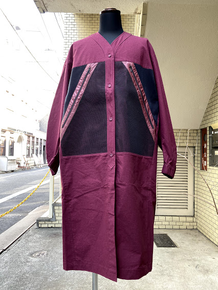 STOF(ストフ)WAYFARER LIGHT COAT/WINE