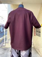 ETHOSENS(エトセンス)BOATNECK T-SHIRT/BORDEAUX