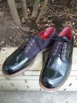 Broga Vidar : OFFICER SHOES(BLACK)