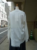 Ujoh(ウジョー):Long Sleeve Knit (White)