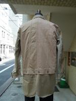 ink:Military Fatigue Sharts Jacket With Apron /c