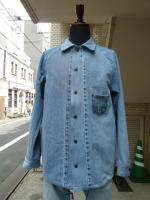 "ink(インク):505 Denim Coach jacket""CITY OF G"""