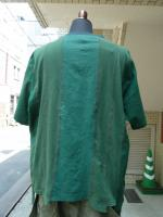 "ink(インク): Switching Pocket Tee ""LOOSE TEE""Green"