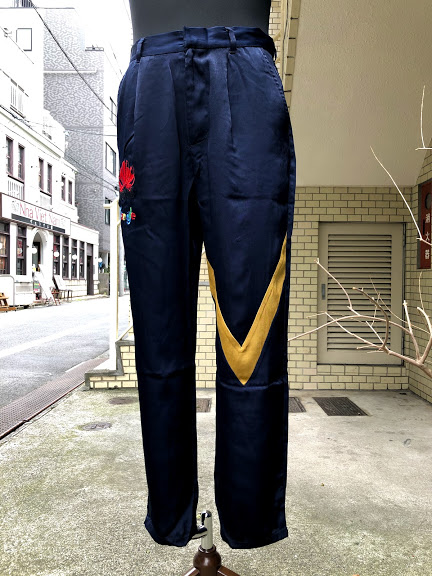 VOY(ヴォーイ)IT SLIM TAPERED PANTS/NAVY