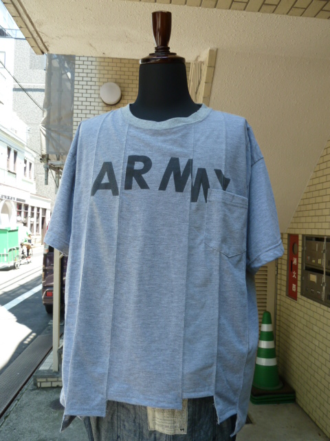 "ink(インク): Switching Pocket Tee ""ARMY LOOSE TEE"""