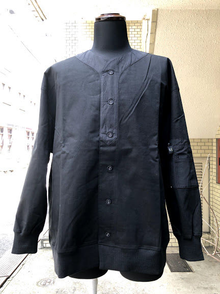 VOY(ヴォーイ)BACKPAC SHIRT BLOUSON /BLACK