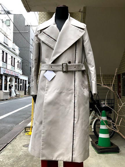 ETHOSENS(エトセンス)EAR NAME COAT/GREIGE