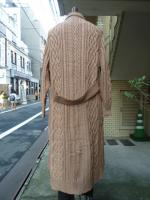 STORAMA(ストラマ)KNIT MIX TRENCH COAT   BE