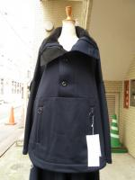 Ujoh(ウジョー):Full Open Sleeve Anorak(Navy)