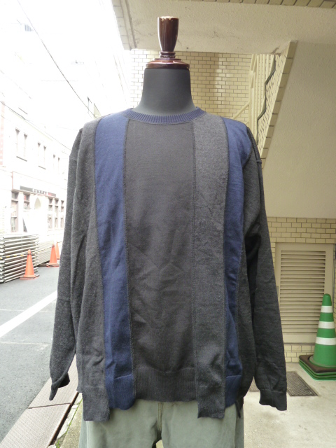 "ink(インク)""LOOSE KNIT"" NAVY ②"