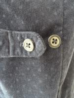 votole:BURN OUT POLKA DOTS CORDUROY WORK VEST