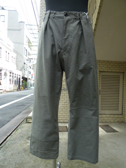"ink:German Military Adjustment Tuck Pants""FUNK""M"