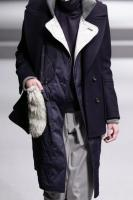 Ujoh:Quilting double coat(Navy)