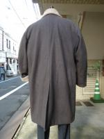 votole: TOP MELTON BOA  WRAP COAT  br×be