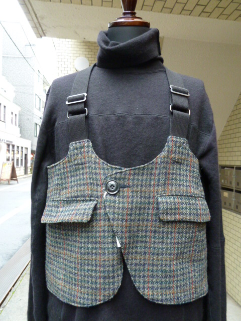 "ink:Hunting vest Harristweed""HUNTER"""