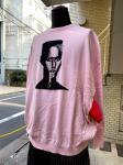 STOF/STRANGE FRUITS:GRACE JONES KNIT SWEATER/PINK